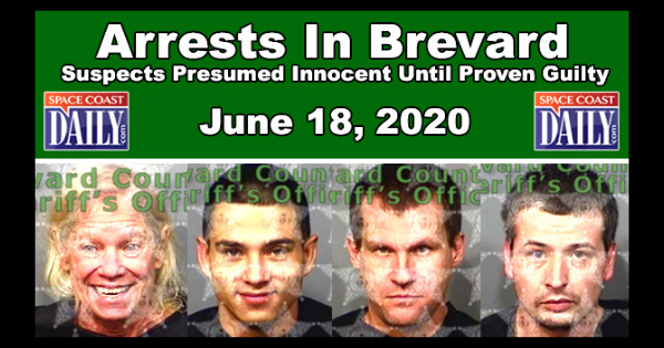 Brevard County Arrests for June 18, 2020
